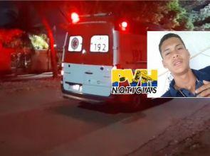 TRÁGICO: Motociclista morre no Hospital após grave acidente na Avenida Mamoré