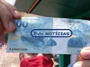 NO CENTRO: Policial recebe dinheiro falso em lotérica e aciona a PM na capital